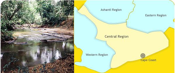 Central Region - touringghana com